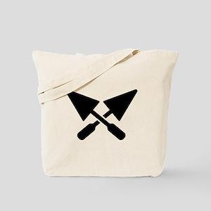 Mason crossed trowel Tote Bag
