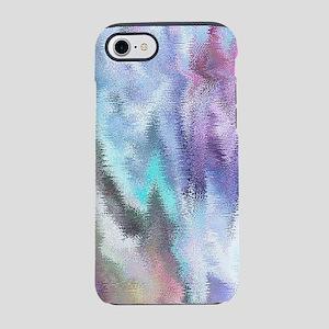 Vibrating Glitch Pastels iPhone 7 Tough Case