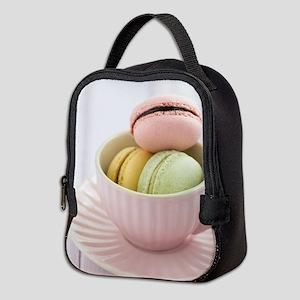Macarons Neoprene Lunch Bag