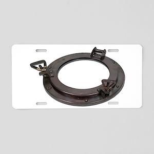 Porthole110510 Aluminum License Plate