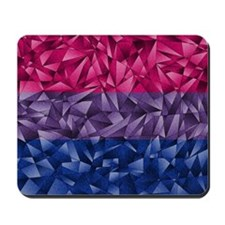 Abstract Bisexual Flag Mousepad