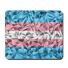 Abstract Transgender Flag Mousepad