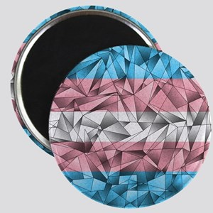 Abstract Transgender Flag Magnet
