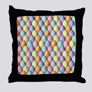 Easter Egg Assembly Throw Pillow