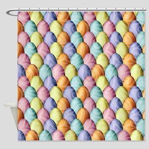 Easter Egg Assembly Shower Curtain