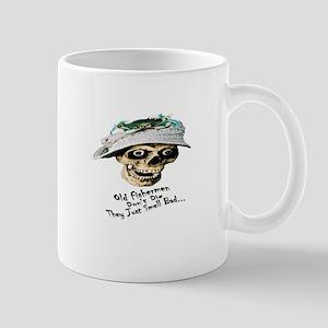 Old Fisherman Don't Die Mugs