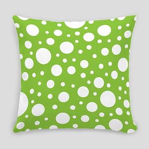 Mod Dot Spring Green Everyday Pillow