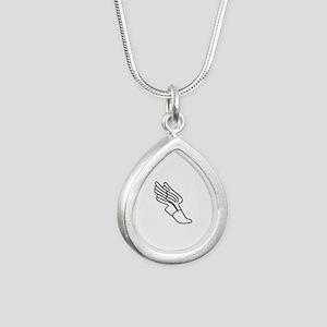 Track Logo Necklaces