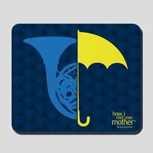 HIMYM French Umbrella Mousepad