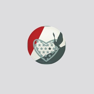 """Love Dove Pin 1"""" (10 pack)"""