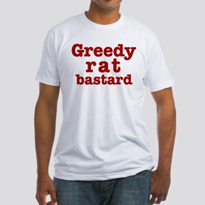 Greedy Fitted T-Shirt