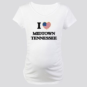 I love Midtown Tennessee Maternity T-Shirt