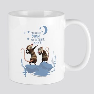 Possums Own the Night Mug