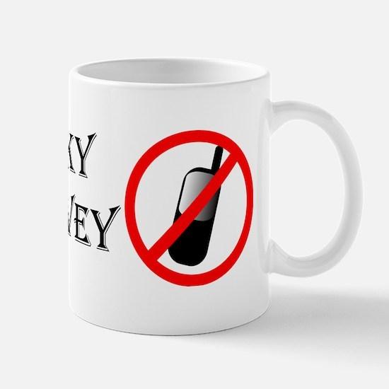 Funny Cell phone Mug