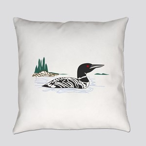 Loon Everyday Pillow