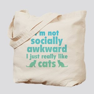 I Just Really Like Cats Tote Bag