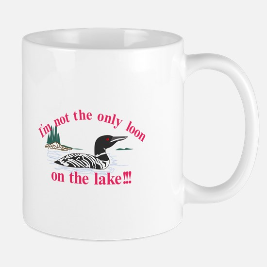 Loon on the Lake Mugs