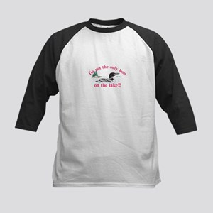Loon on the Lake Baseball Jersey