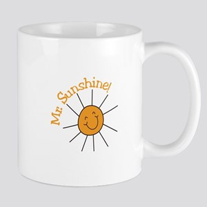 Mr. Sunshine Mugs