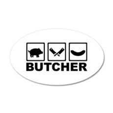 Butcher Wall Decal