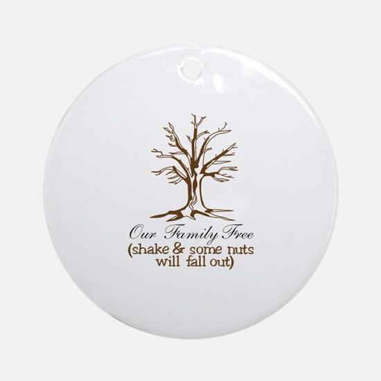 Our Family Tree Ornament (Round)