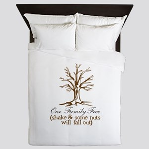 Our Family Tree Queen Duvet
