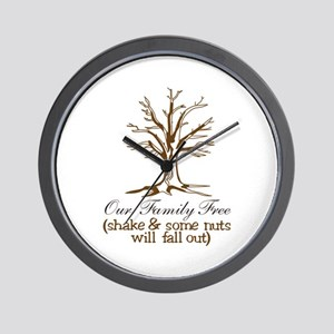 Our Family Tree Wall Clock