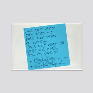 Grey's Anatomy: Sticky Note Rectangle Magnet