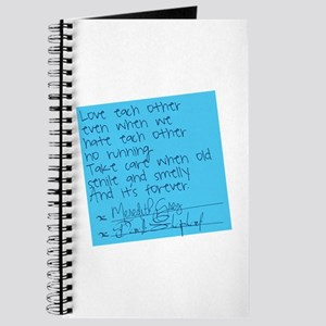 Grey's Anatomy: Sticky Note Journal