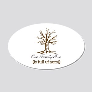 Full of Nuts Wall Decal