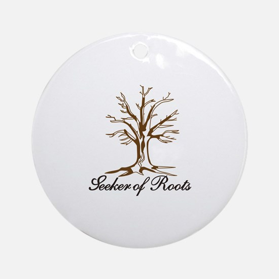 Seeker of Roots Ornament (Round)