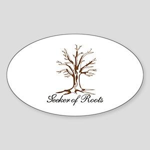 Seeker of Roots Sticker