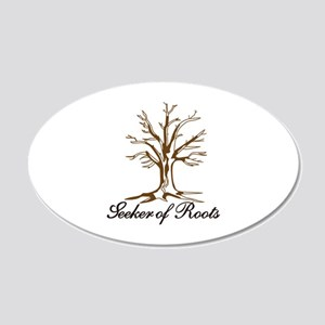 Seeker of Roots Wall Decal