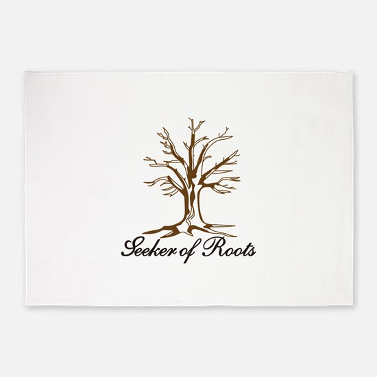 Seeker of Roots 5'x7'Area Rug