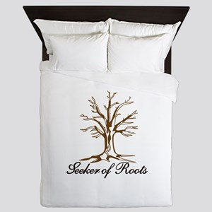 Seeker of Roots Queen Duvet