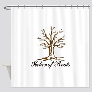 Seeker of Roots Shower Curtain