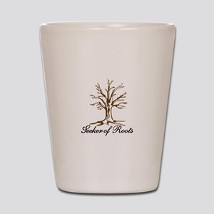 Seeker of Roots Shot Glass