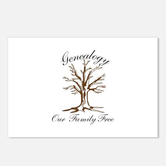 Genealogy Postcards (Package of 8)
