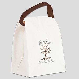 Genealogy Canvas Lunch Bag