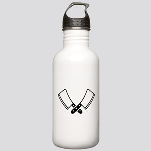 Butcher knives cleaver Stainless Water Bottle 1.0L