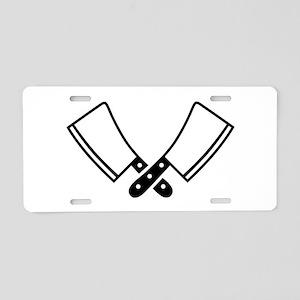 Butcher knives cleaver Aluminum License Plate