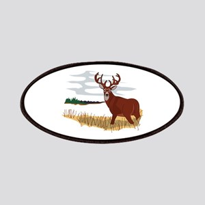 Whitetail Deer Scene Patch