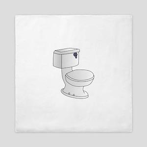 Toilet Queen Duvet