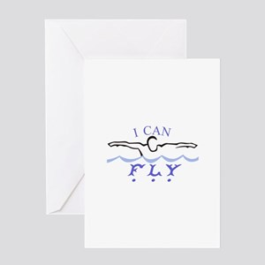 I Can Fly Greeting Cards