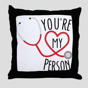 Grey's Anatomy You're My Person Throw Pillow