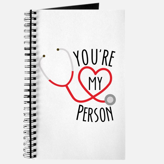 Grey's Anatomy You're My Person Journal