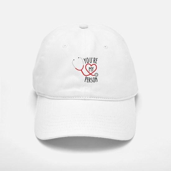Grey's Anatomy You're My Person Baseball Baseball Cap