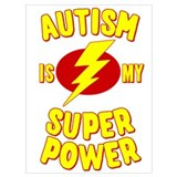 Autistic Wrapped Canvas Art