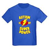 Autism Kids T-shirts (Dark)