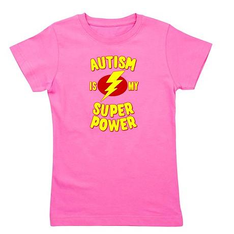 Autism is My Super Power Girl's Tee